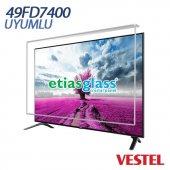 Vestel 49fd7400 Tv Ekran Koruyucu Ekran Koruma Camı Etiasglass