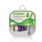 Poblex Çam Tipi Plus Kulak Tıkacı 2li (Beden Seçenekli)