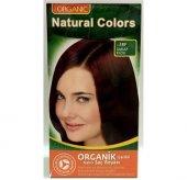Natural Colors Organic Saç Boyası Şarap Kızılı 5rf