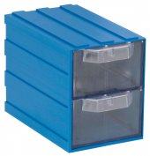 Sembol Plastik Set 104 Mavi Şeffaf Plastik Çekmece...