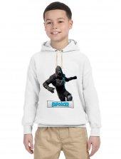 Tshirthane Fortnite Enforcer Çocuk Uzunkollu Kapşonlu Sweatshirt