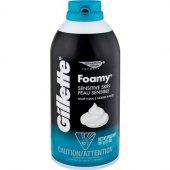 Gillette Foamy Sensitive(Hassas Ciltler) Shave Foam 11 Oz 311 Gr.