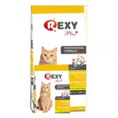 Rexy Tavuk Adult Cat Food Yetişkin Kedi Maması Tavuk Etli 10kg