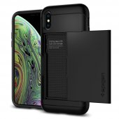Iphone Xs Kılıf, Spigen Slim Armor Cs Black
