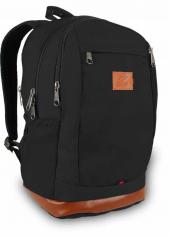 8401 Alone Çanta Siyah Sırt Çantası