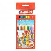 Bigpoint Kuru Boya Kalemi 12 Renk Set
