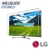 Lg 49uj630v Tv Ekran Koruyucu Ekran Koruma Camı Etiasglass