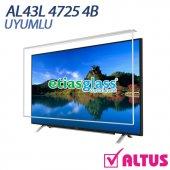 Altus Al43l 4725 4b Tv Ekran Koruyucu Ekran Koruma Camı Etiasglass