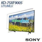 Sony Kd 75xf9005 Tv Ekran Koruyucu Ekran Koruma Camı Etiasglass