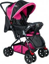 Baby Keeper Çift Yönlü Bebek Arabası Pembe