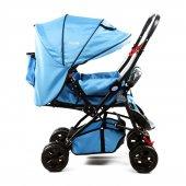 Asyamo Keeper Bebek Arabası Mavi