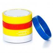 Hıper Bt 30y Bluetooth Speaker Mavi Sarı+kırmızı