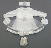 Bebetomy Kız Mevlüt Elbise 0 3 Ay Doğal Antialerjik