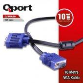 Qport Q Vga10 10 Metre Vga Kablo