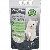 Kittymax 5 Litre Doğal Kokusuz Bentonit Kedi Kumu