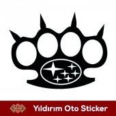Subaru Muşta Sticker Hediyeli Ürün
