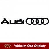 Audi Sticker Hediyeli Ürün