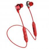 Baseus Encok S10 Dual Dynamic Su Geçirmez Bluetooth Kulaklık Kırmızı