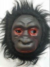 Yabidur Peluş Goril Maskesi Hayvan Maskeleri Karışık 12 Adet