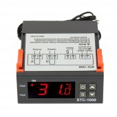 12 Volt 10 Amper 0.1 Hassasiyet Digital Problu Kuluçka Termostat