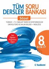 Tudem 8.sınıf Tüm Dersler Sözel Soru Bankası