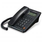 Alcatel T 37 Masaüstü Kablolu Ekranlı Telefon (Siyah)