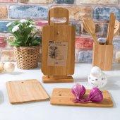 7 Parça Bambulu Kesme Tahtası Seti