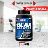 Hardline Bcaa 4 1 1 Atb6 120 Tablet Amino Asit