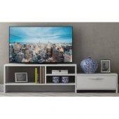 Dada Tv Sehpası Yan Dolaplı Televizyon Ünitesi 166 Cm