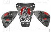 Godzilla Dinosaur Tank Pad & Yan Pad Seti Tank Pad Seti Çınar Ext