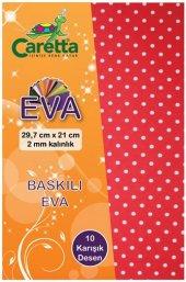Caretta Baskılı Eva A4 10 Renk
