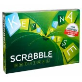 Scrabble Türkçe Orjinal Lisanslı Mattel Scrable Oy...