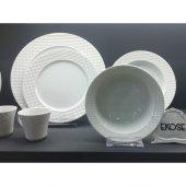 Kütahya Porselen Ekose 48 Parça 12 Kişilik Yemek Takımı