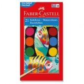 Faber Castell Sulu Boya 21li Büyük Boy Fırça Hediyeli,