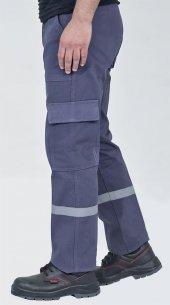 7 7 Gabardin İş Pantolonu Kışlık Reflektörlü Kargo Cepli