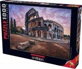 1000 Parça Puzzle Yapboz 48x66 1017 Colosseum İtalya