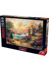 1500 Parça Puzzle Yapboz 60x85 4539 Sahil Düşleri