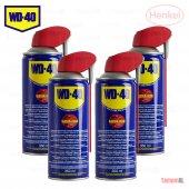 Wd 40 (4 Adet) Çok Amaçlı Pas Sökücü Yağlayıcı 350 Ml Smart Straw