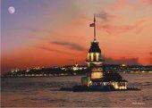 1500 Parça Puzzle Yapboz 85x60 4501 Kız Kulesi...