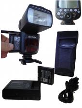 Lion Bataryalı Godox V860ıı Nikon D5500 Flaş