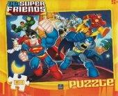 Dc Süperman Batman Puzzle 130 Parça