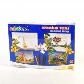Adeland Boya Ve Eğlen 12 Ve 24 Parça Puzzle