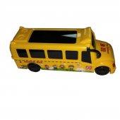 Oyuncak Pilli Okul Otobüsü