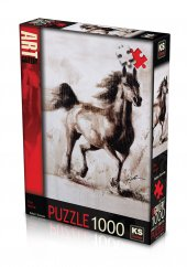 Ks Puzzle 1000 Parça The Horse 11342