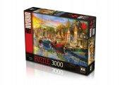 Ks Puzzle 3000 Parça Harbour Lights 23006