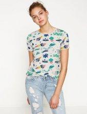 Koton 7yal16211ok Kadın Kısa Kol T Shirt