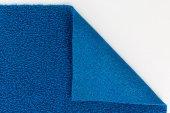 Kıvırcık Paspas Islak Zemin Kaydırmaz Yolluk En 100 Cm Mavi