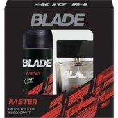 Blade Faster Edt Erkek Parfüm 100 Ml & Deodorant 1...