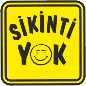 Sikinti Yok Sticker