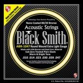 Black Smith Abr 1047 Extra Light (010 047) Akustik Gitar Teli
